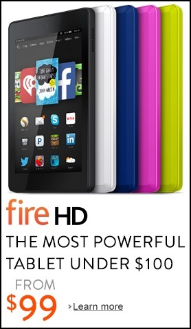 Fire 6 inch HD Display, Wi-Fi, 8 GB