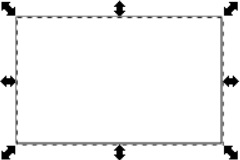how to draw a square in inkscape
